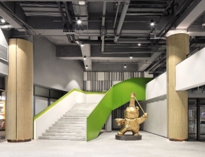 柏舍设计 | 保利集团总部共享餐厅