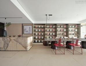 朱周空间设计--杭州嘉里中心逸庐样板间问茶163㎡