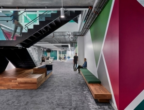 Studio O+A--活力色块·旧金山思科办公空间
