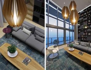 深圳于强设计--百仕达·红树西岸L住宅