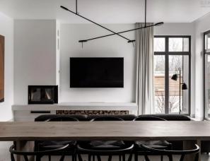 FROM Design--三层别墅叠加LOFT,超有设计感的家庭住宅