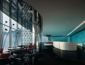 MOD墨设设计--重庆麓悦江城公园会客厅