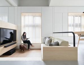 虫点子创意设计--储物空间超多59㎡公寓[完整版含平面图]