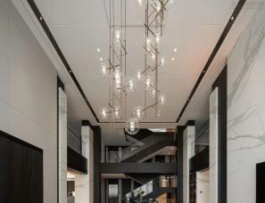 一格设计X Royana--沈阳铂海湾别墅1400m²