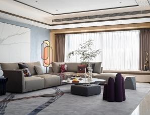 鸿艺源设计 | 420㎡自在如风的家,收藏多样生活逸趣!