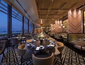 """梁志天酒店设计--高级中菜馆""""六公馆"""""""