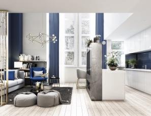 新疆现代公寓设计一