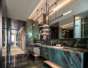 深朴悦设计--温州新希望立体城黑珍珠样板房