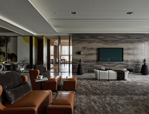 YHS DESIGN杨焕生设计--赋采25D 台湾中部330平米低调奢华豪宅