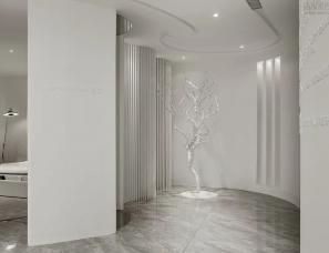派格设计--纯净空间,于四季中找寻自然本真330㎡