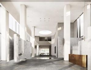 于强室内设计--西安金地·玖峯汇销售中心