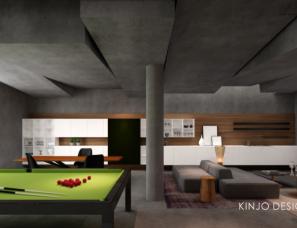 (HK)KINJO DESIGN-深圳萬科璞悅山別墅室內設計