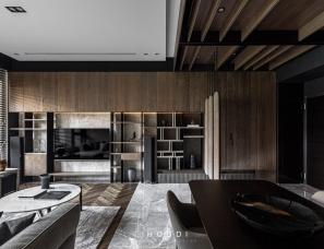 禾邸设计--40坪5口之家的精致私宅 台式简约设计