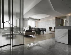 禾筑国际设计--行云流水 私宅172㎡