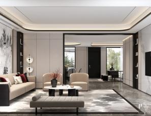 武汉品承设计||汤逊湖壹号别墅||新中式||416m²