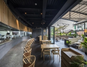 Takashi Niwa--越南·绿色屏风中的社交场所一风堂