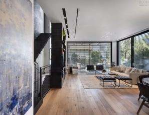 Aviram Kushmirski--以色列高级黑现代别墅
