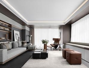 EVD廿象设计--无锡阳光城金科玖珑悦175户型样板间