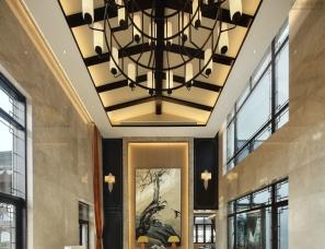 ESUN-南通奕空间室内设计--九里兰亭别墅-掬翠园