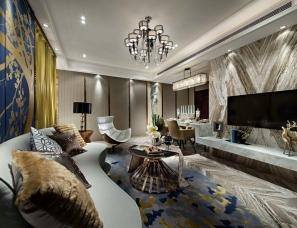 深圳盘石设计--湖北宜昌恒信·中央公园9A户型样板房