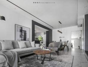 颜值在线极简风,用黑白灰缔造品质生活,筑就温暖美家!