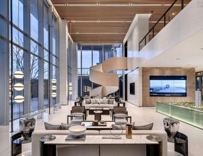 牧笛设计--新力·金海湾销售中心