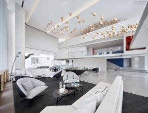 共生形态设计--美的·未来中心售楼处