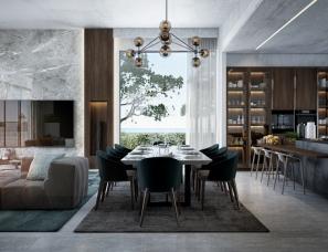 MENA THABET设计--Summer House