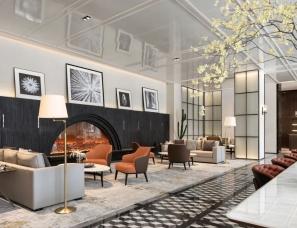 李益中空间设计--万科·金域缇香售楼中心