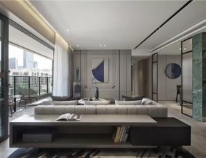 于强室内设计师事务所--惠州中洲华昕府样板房