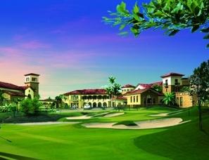 高尔夫球场设计案例效果图