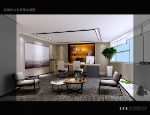 秦皇岛道合设计--冠群驰骋办公空间