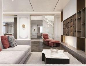 乌克兰IQOSA Architect--摩登轻奢与极简精致的住宅设计