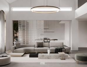 辰佑设计新作 | 光线与结构共生,让空间焕发新的生命张力