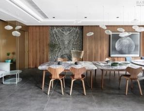 维斯林设计廖奕权新作--香港高家別墅