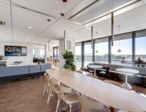 Artdesk Group--巴黎Olympus光学数字技术制造商创意办公空间