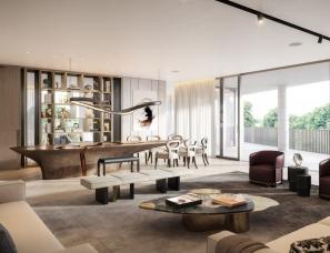Taylor Howes设计--kensington-penthouse