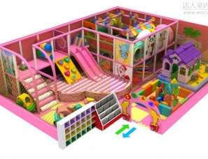 儿童乐园设计案例效果图