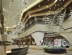 上海天鼓装饰设计--金地未未来售楼处