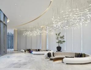 纳沃设计--金科九华粼云售楼处