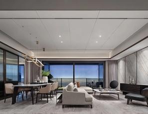 新加坡SCDA设计--恒裕深圳湾340㎡大平层