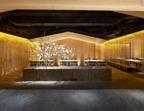 梁志天X隈研吾设计--「竹」日本料理餐厅
