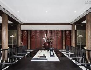 上海乐尚设计--福州融信海月江潮售楼处