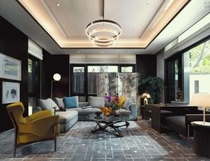 金永生空间设计--北京顺义别墅598平方米