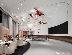 GBD设计--兰州中海寰宇天下售楼处+城市会客厅+样板间