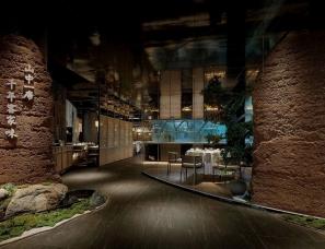 深圳有山设计--靠山餐厅