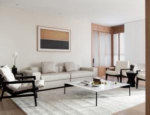 《温润文雅》——柒筑空間設計