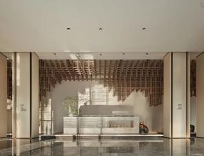 尚诺柏纳设计--保利东莞松湖和府项目售楼处