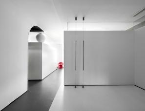 墨然设计高辉--黑白魔盒280㎡办公室