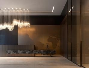 GFD广飞设计--德信·环翼城售楼处